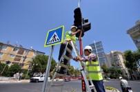 TRAFİK EĞİTİMİ - Mersin'de Trafik Hizmetleri Kent Genelinde Sürüyor