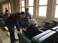 SERKAN BAYRAM - Milletvekili Serkan Bayram'dan Hasta Ziyareti