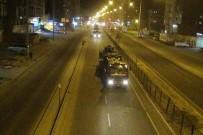 Üçüncü Askeri Konvoy Silopi'ye Sevk Edildi