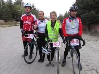 BİSİKLET TURU - Ata'nın Huzuruna Çıkacak Bisikletliler Sandıklı'da Mola Verdi
