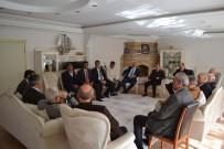 SOĞUK HAVA DEPOSU - Başkan Asya, AK Partili Başkanları Evinde Ağırladı