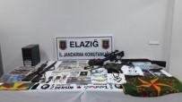 Elazığ'da PKK Operasyonu Açıklaması 8 Gözaltı