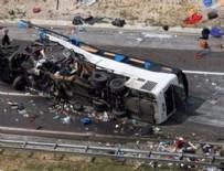 KERBELA - İnanılmaz kaza: 20 ölü