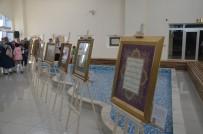 TEZHİP SANATI - 'Kalemin Bereketi' Hat Ve Tezhip Sergisi Fatsa'da Açıldı