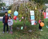 LÖSEMİ HASTASI - Lösemili Çocuklar Dileklerini Ağaca Astı