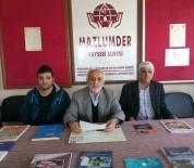 DİYARBAKIR EMNİYET MÜDÜRLÜĞÜ - Mazlumder Kayseri Şube Başkanı Ahmet Taş Açıklaması
