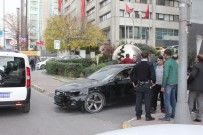 SİGORTA ŞİRKETİ - Sigorta Şirketine Kızan Sürücü, Aracını Yakmak İstedi