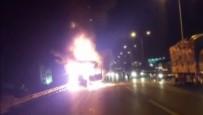 ORHANLı - TEM'de Seyir Halindeki TIR Alev Alev Yandı