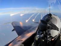 TSK - TSK'dan Irak'ın kuzeyine hava harekatı