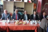 AHMET DEMIRCI - Uysal Ve Madenoğlu GMİS Temsilcileri İle Buluştu