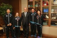 AVRUPA ŞAMPİYONU - Başarılı Sporcular Ödüllendirildi