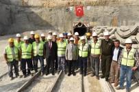 LÜTFI ELVAN - Çakacak Açıklaması 'Pamukluk Barajı Projesinin Yüzde 84'Ü Tamamlandı'