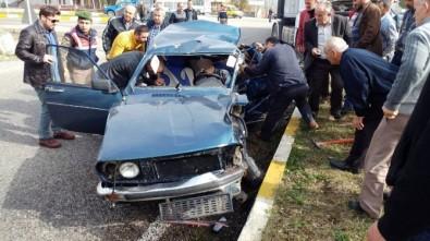 Çaycuma'da Trafik Kazası Açıklaması 1 Ölü