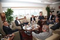 ALTıNOK ÖZ - CHP İlçe Başkanları Başkan Altınok Öz'ü Ziyaret Etti