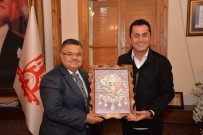 BILECIK MERKEZ - Hasan Yılmaz'dan Başkan Yağcı'ya Ziyaret