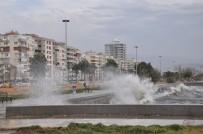METEOROLOJI GENEL MÜDÜRLÜĞÜ - İzmir'de Lodos Hayatı Felç Etti