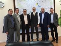 Karamanlı Heyetten Konya DSİ 4. Bölge Müdürlüğüne Ziyaret
