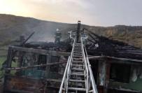 KUTLUBEY - Mazotla Sobayı Tutuşturmak İsterken Yangın Çıktı