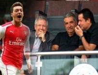 MESUT ÖZİL - Mesut Özil ile Aziz Yıldırım görüştü mü?