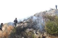 Milas'taki Yangın Evleri Tehdit Etti