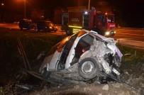BOLAMAN - Ordu'da Korkunç Kaza Açıklaması 3 Ölü, 4 Yaralı