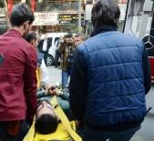 FUZULİ - Polisten Kaçan Şüphelinin Binadan Atlarken Ayağı Kırıldı