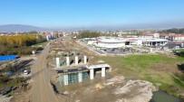 ŞEHİRLERARASI OTOBÜS - TEM Bağlantı Yolu İnşaatı Hızlandı