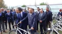 ALI KABAN - Üniversite Öğrencilerine 'Fiziksel Aktivite' İçin Bisiklet Dağıtıldı