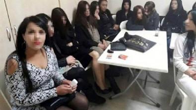 28 yabancı kadın fuhuş şüphesi ile gözaltına alındı