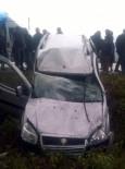 SAKARLı - Ağaca Çarpan Kamyonet Takla Attı Açıklaması 1 Yaralı