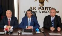 KAHRAMANLıK - AK Parti Erzurum İl Başkanı İstifa Etti
