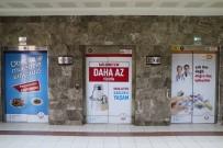 İLAÇ KULLANIMI - Asansör Kapılarına Bilgilendirme Broşürleri Asıldı