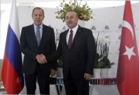 RUSYA - Bakan Çavuşoğlu İle Rus Dışişleri Bakanı Lavrov Bir Araya Geldi
