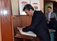 MUHAMMET TOPALOĞLU - Başsavcı Arslan'dan AGC'ye Ziyaret