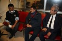 GEÇMİŞ OLSUN - Belediye Başkanı Demirkol Yaralı Polisleri Ziyaret Etti