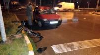 YAŞLI ADAM - Bisikletli Yaşlı Adama Otomobil Çarptı