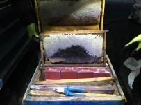 BİTLİS - Bitlis'te Arı Kovanlarının İçinde Kaçak Sigara Ele Geçirildi