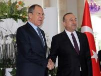RUSYA - Çavuşoğlu Lavrov'la Bir Araya Geldi