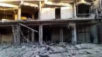 AZEZ - Esad Rejimi Türkmenlerin Bulunduğu Bölgeleri Vurdu