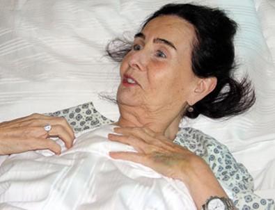 Fatma Girik ikinci kez ameliyata alındı