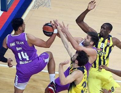 Fenerbahçe Real Madrid'i son saniyede yıktı.