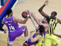 BOGDAN TANJEVİC - Fenerbahçe Real Madrid'i son saniyede yıktı.