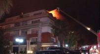 FLORYA - Galatasaraylı futbolcunun oturduğu binada yangın