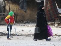 SİVİL SAVUNMA - Halepliler ekmeksiz kaldı