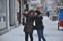 ATATÜRK İLKOKULU - Kars'ta Kış Manzaraları