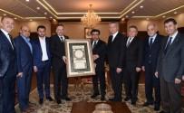 TİCARET ODASI - KOTO Yönetiminden Vali Güzeloğlu'na Ziyaret