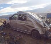 Minibüs Takla Attı Açıklaması 1 Ölü, 2 Yaralı