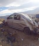 Minibüs Takla Attı Açıklaması1 Ölü, 2 Ağır Yaralı
