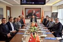 TİCARET ODASI - MTSOB Müteşebbis Heyeti, Vali Çakacak Başkanlığında Toplandı