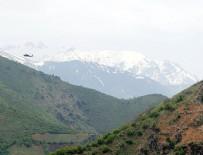DERECIK - PKK'lı teröristlere 'her yer toz duman'